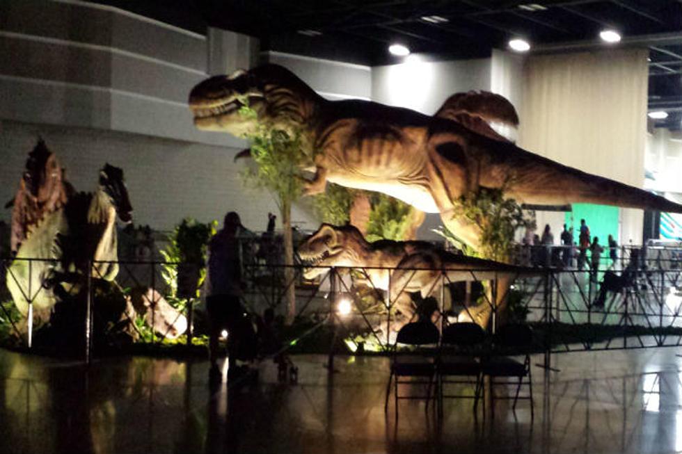 Jurassic Quest Invades the Bismarck Events Center [VIDEO]