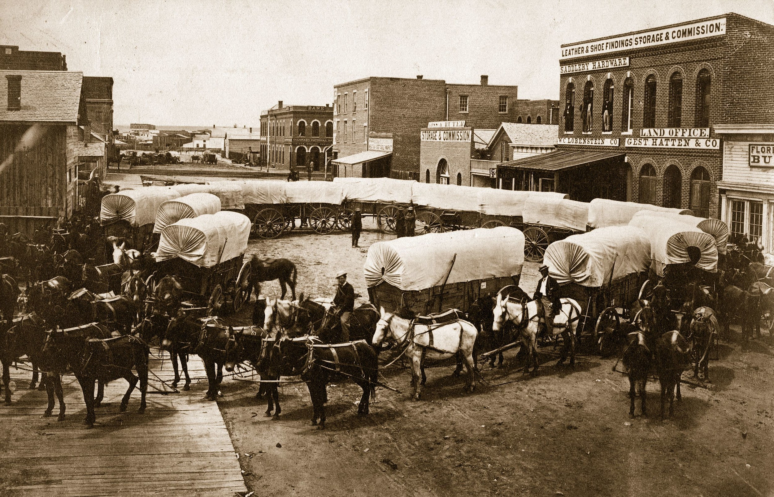 Denver's First Store Opens 156 Years Ago Today - Do You Go to Denver to Shop ?