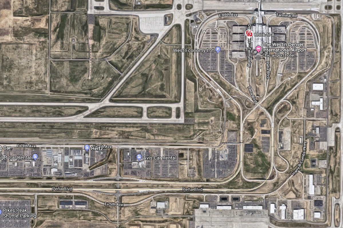 Google Maps Leads Denver Airport Travelers Into Muddy Mess on
