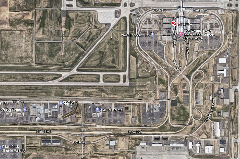Google Maps Leads Denver Airport Travelers Into Muddy Mess