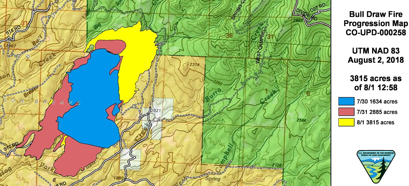 Crews Have Little Containment Of Colorado S Bull Draw Fire