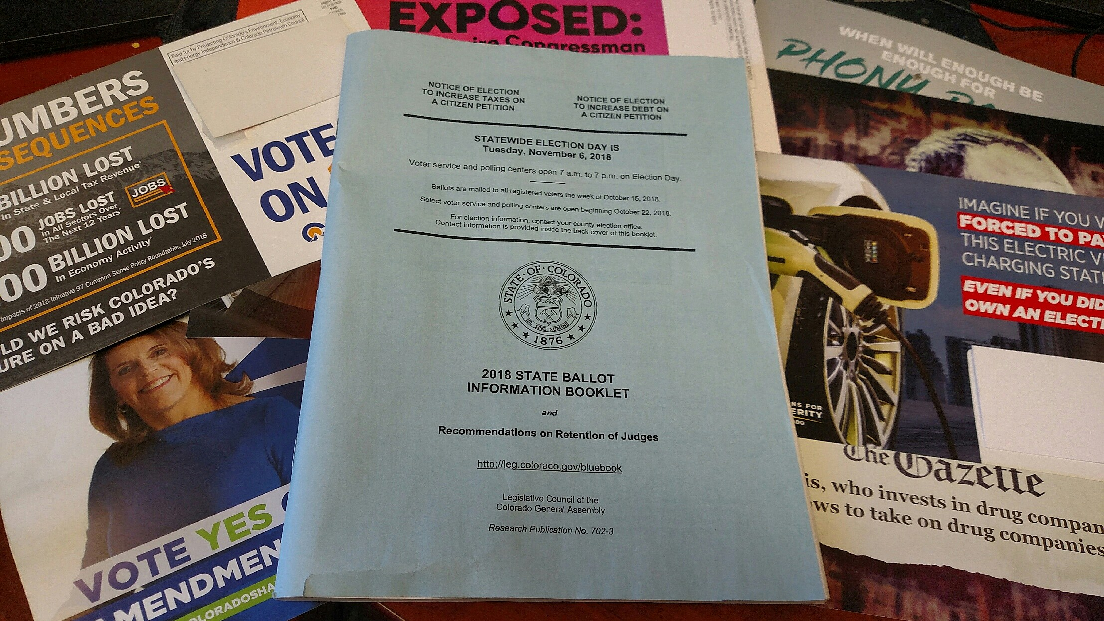 Postal Service to Deliver Millions of Ballots to Colorado Voters