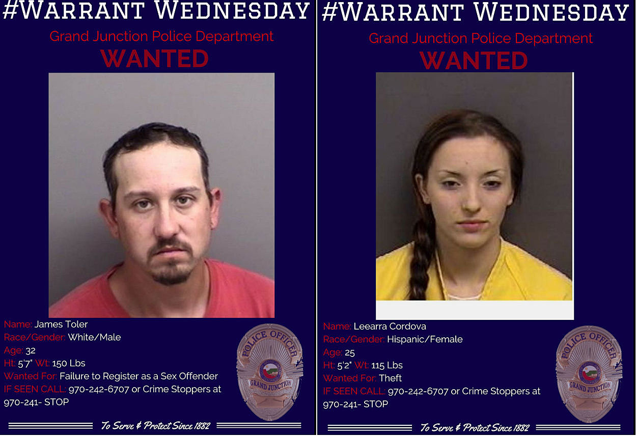 These Are Mesa County's Top Ten Most Wanted Criminals
