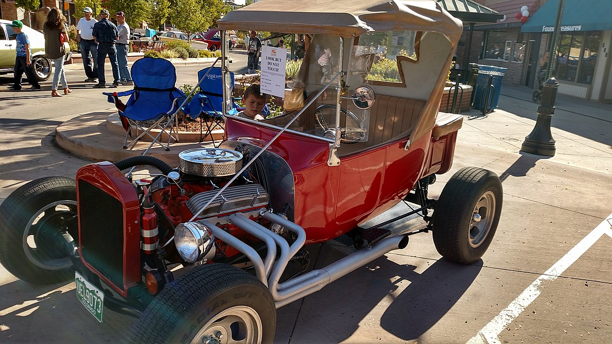Downtown Grand Junction Car Show is On