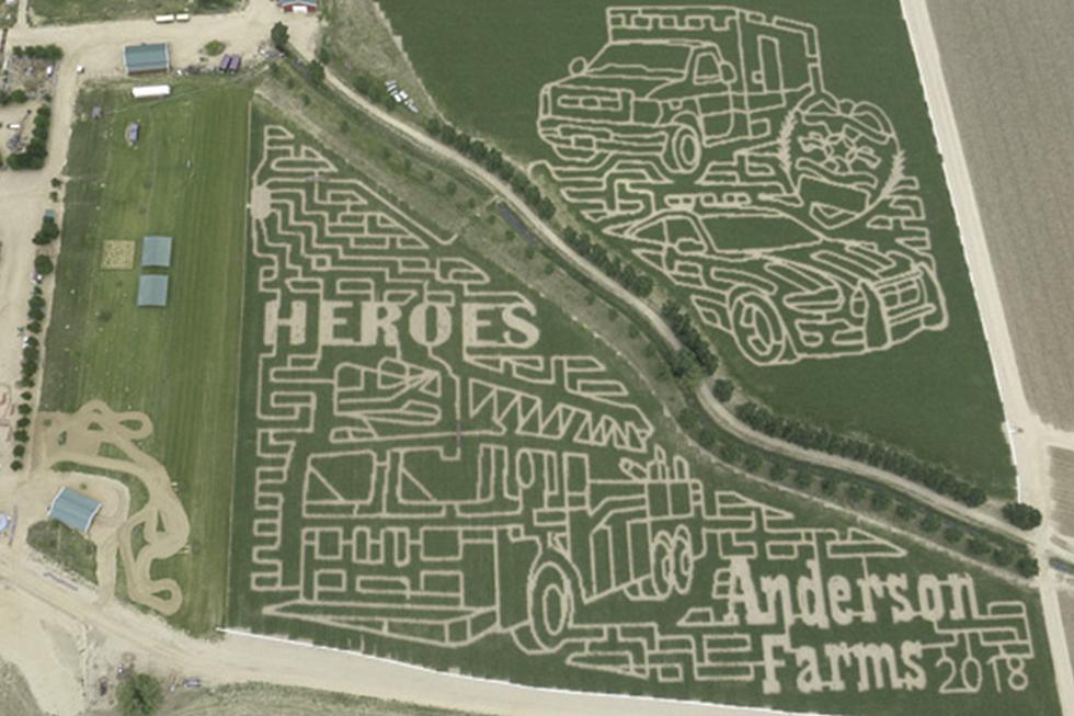 Corn Maze In Colorado Pays Tribute