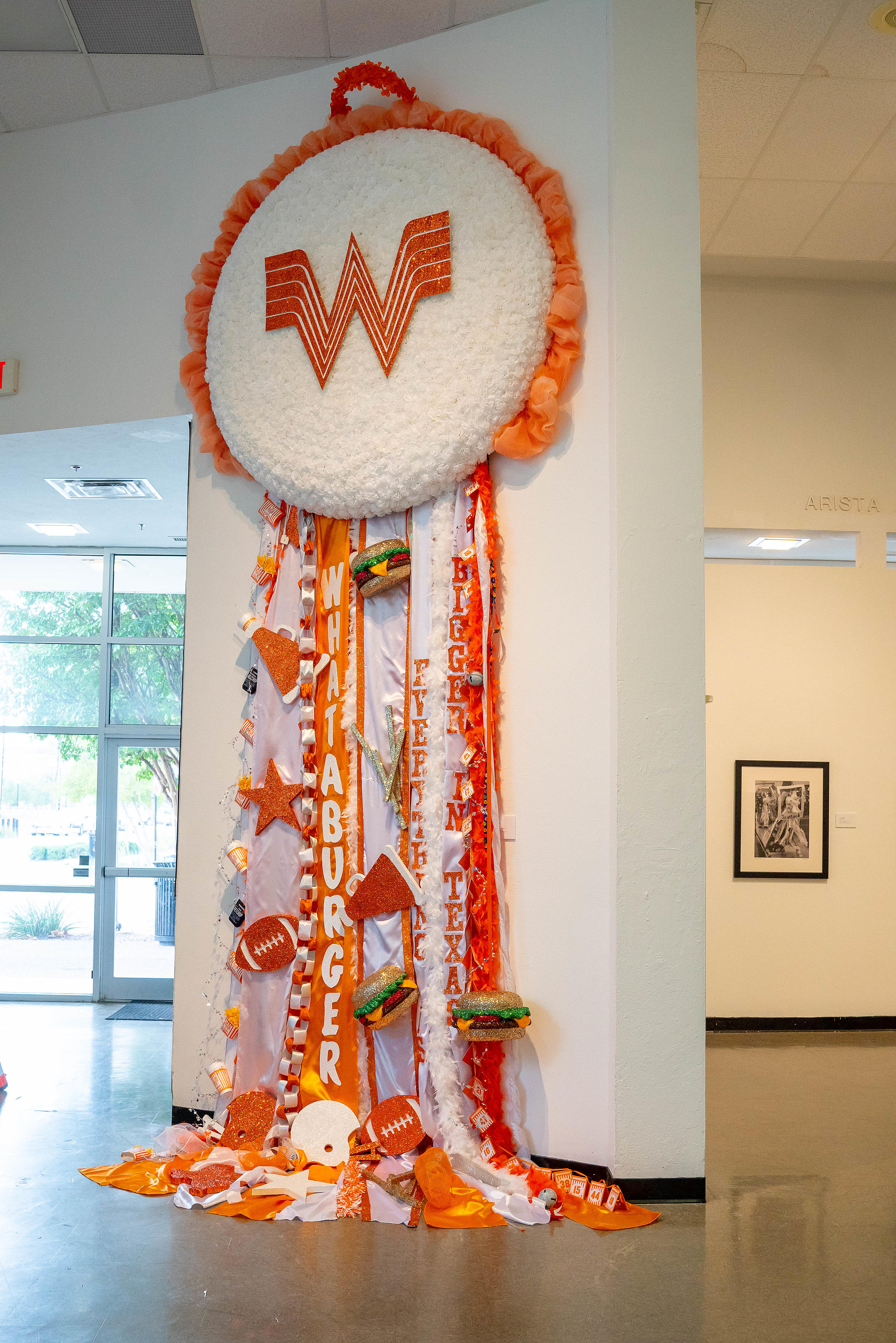 Whataburger Takes Homecoming Mums To A New Level