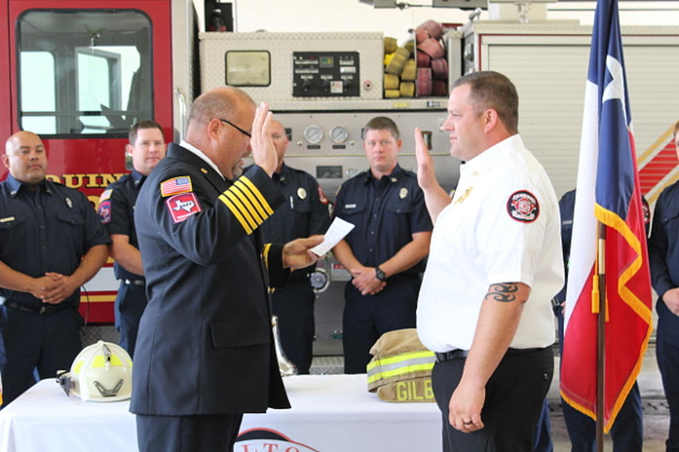 Congratulations to Belton Fire Department's New Assistant