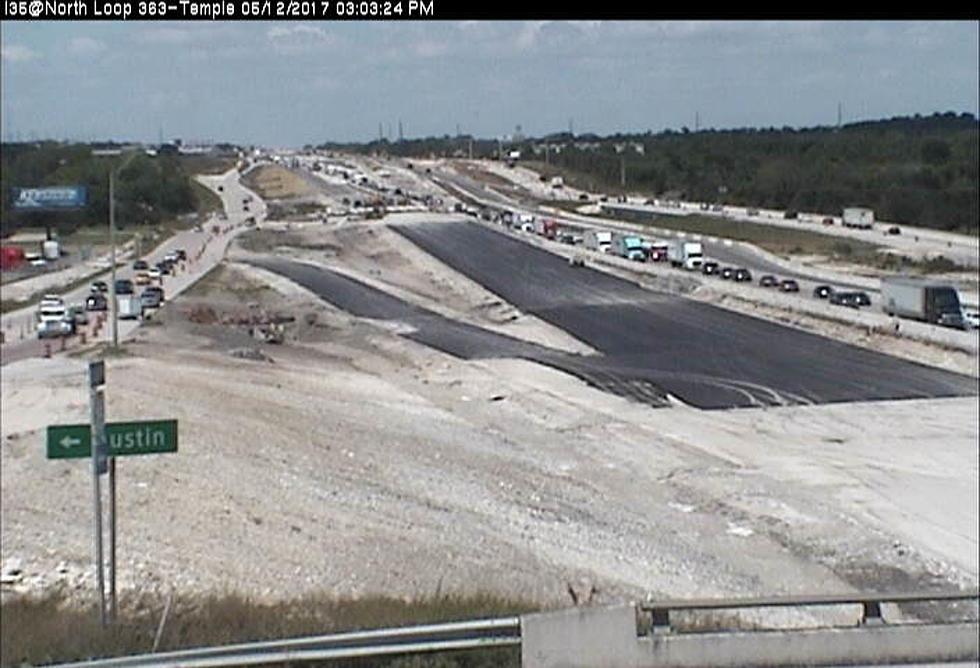I-35 in Temple Stalled by 3-Car Crash Friday Afternoon