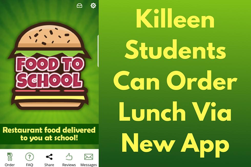 New App Delivers Food To Killeen High Schools