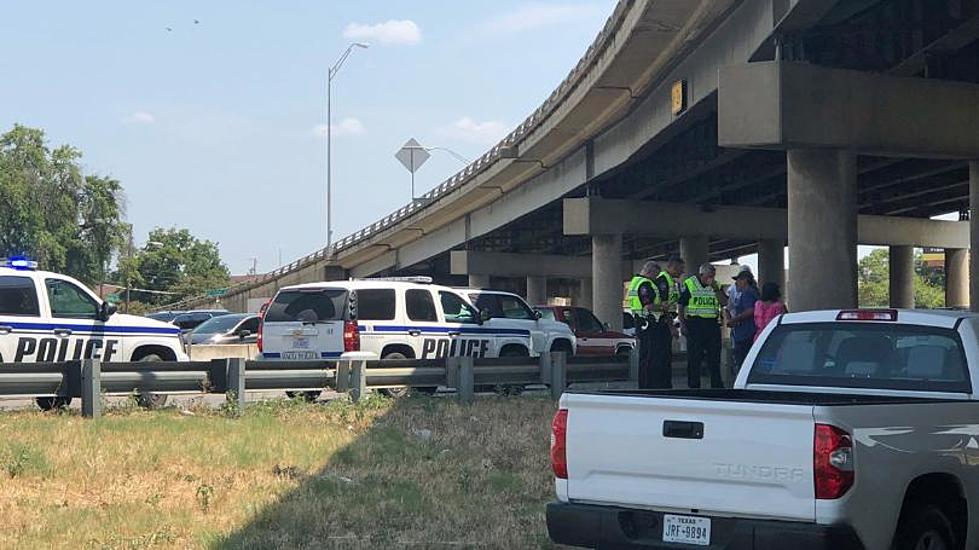 Women Taken to Hospital After Jumping Off I-35 Bridge