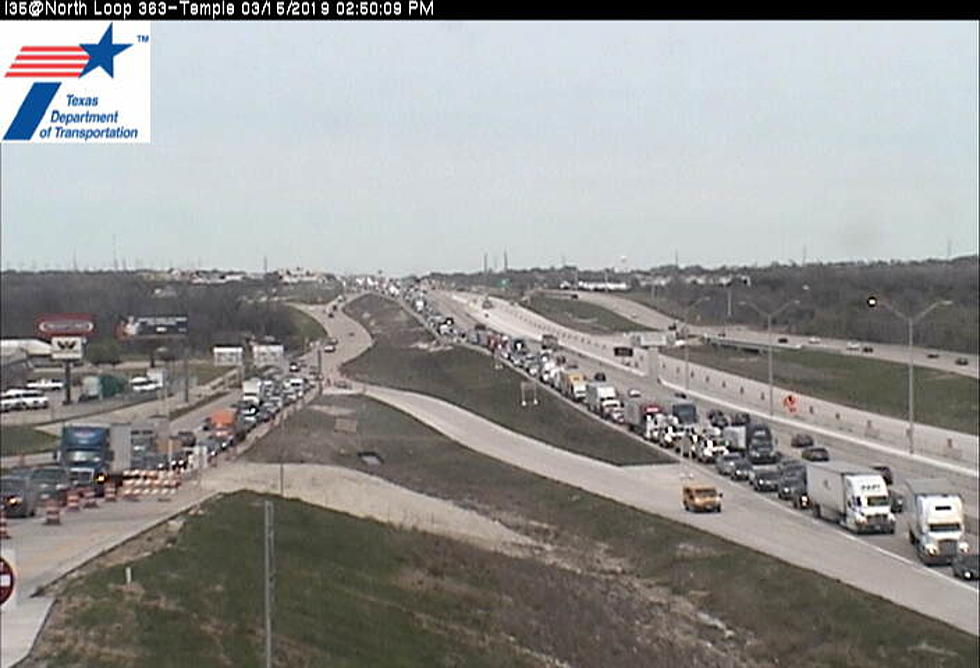I-35 Wrecks Cause Traffic Headaches in Temple Friday Afternoon