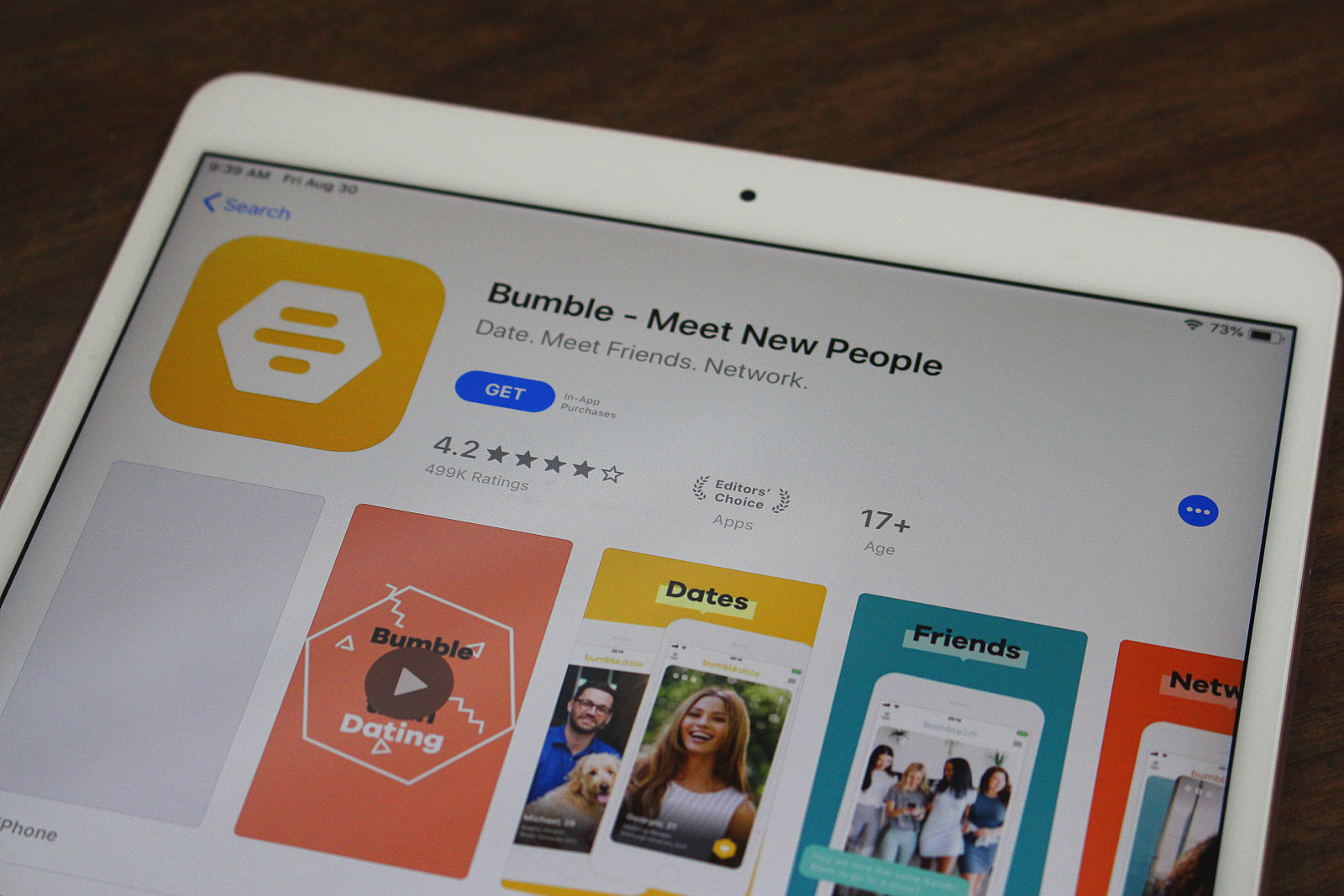 Down dating app store