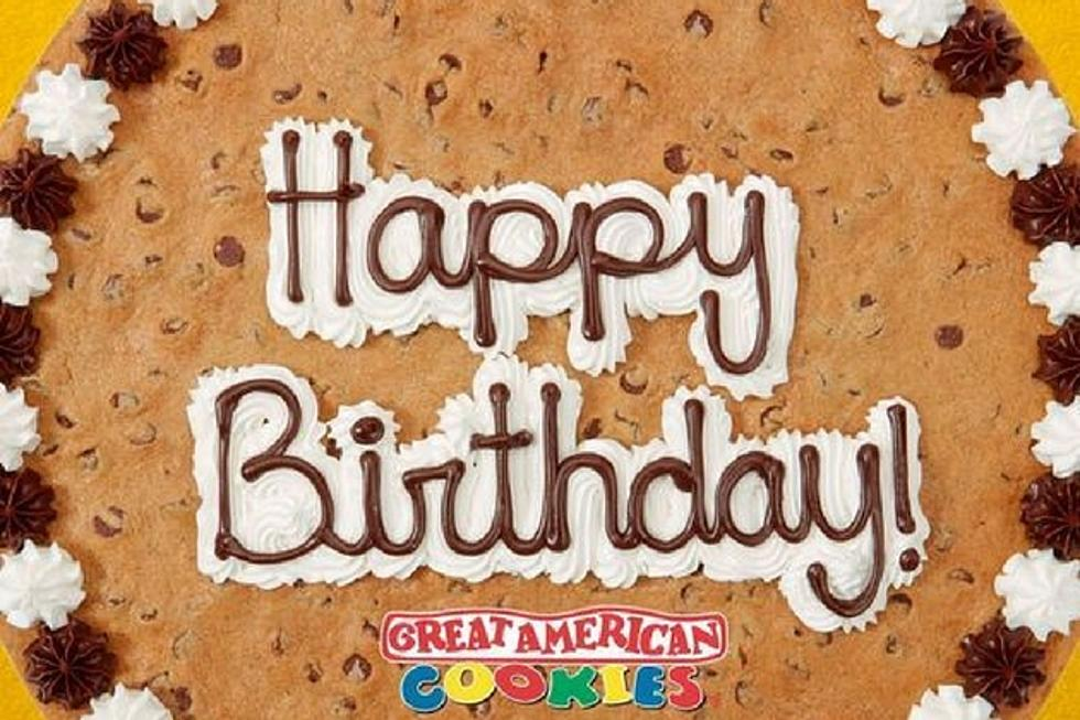 Prime Great American Cookie Company Birthday Giveaaway Funny Birthday Cards Online Elaedamsfinfo