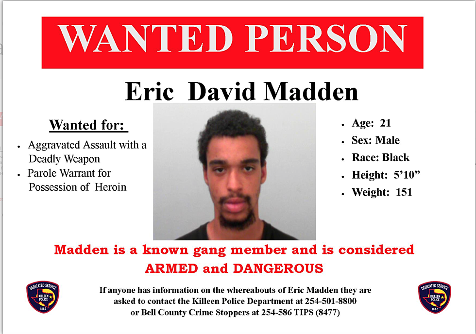 Killeen Police Need Your Help Searching For A Wanted Man