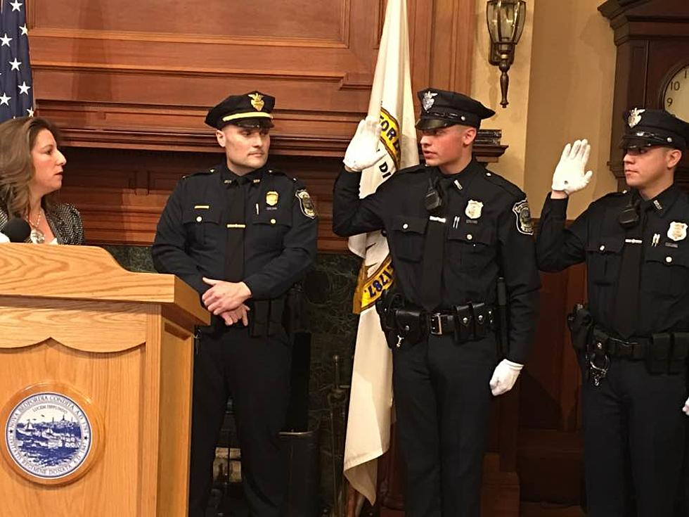 New Bedford Swears In Two New Police Officers