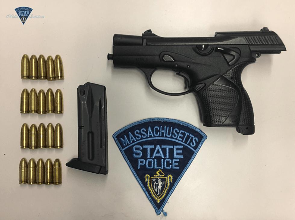 Fall River Man Arrested for Unlicensed Gun Possession