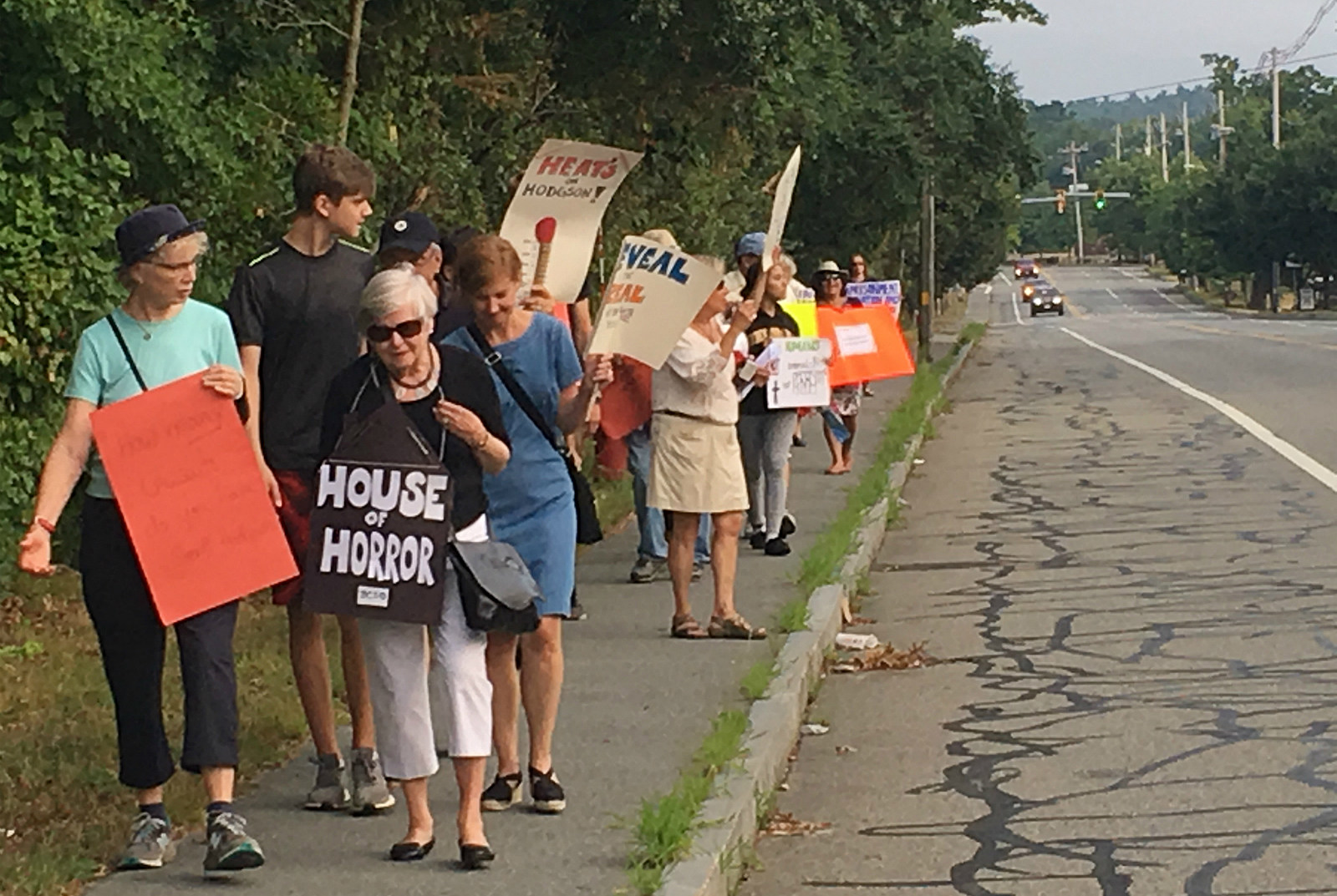 Protest In Dartmouth Over Treatment Of Bristol County Inmates