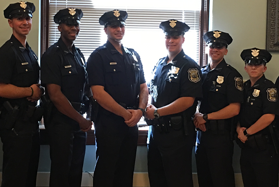 New Bedford Police Swear In Six New Officers