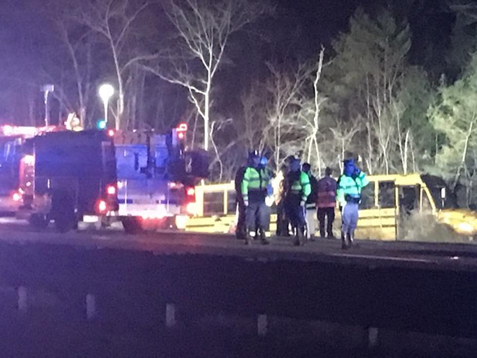 Bus Crashes into Woods in Berkley, Twenty Ambulances Requested