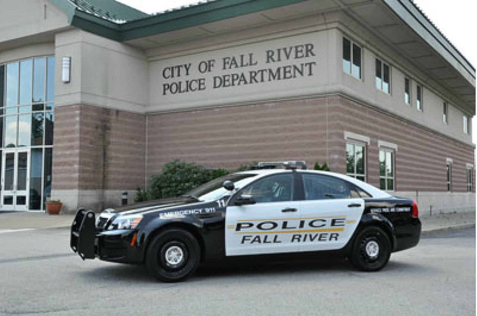 Shooting Reported Outside Fall River Police Station
