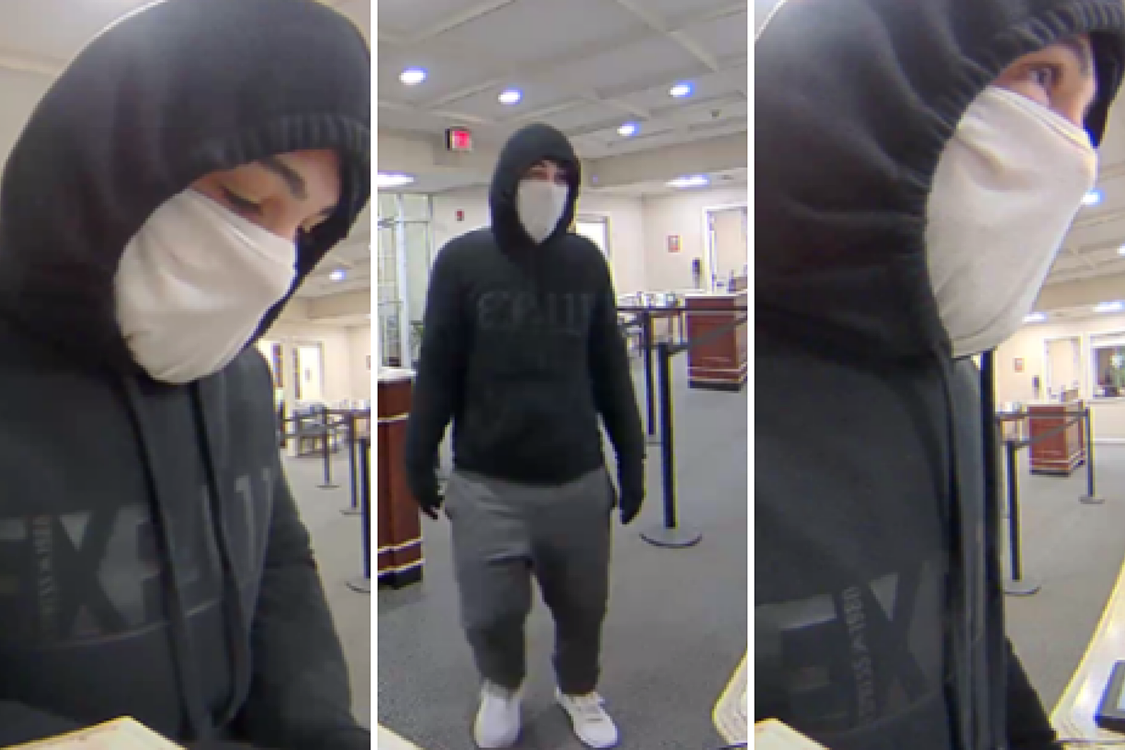 Fall River Police Searching for Bank Robbery Suspect