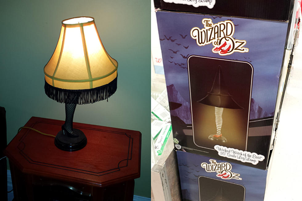 Leg Lamps From A Christmas Story.A Christmas Story Leg Lamp Vs Wicked Witch Of The West