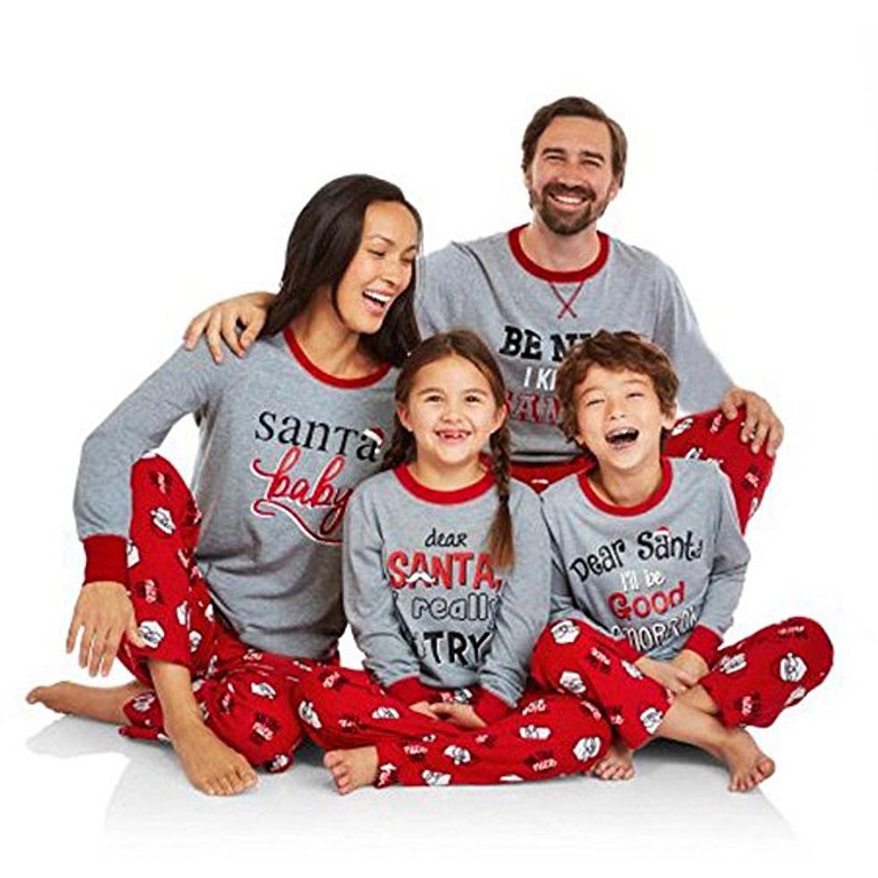 Matching Family Christmas Pajamas.Christmas Pajamas For The Family Cute Or Cheesy Poll