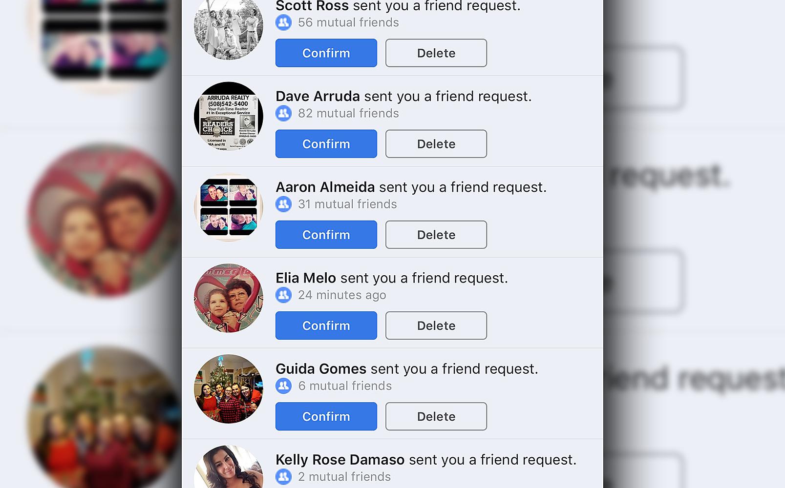 friend requeat list on facebook 2020