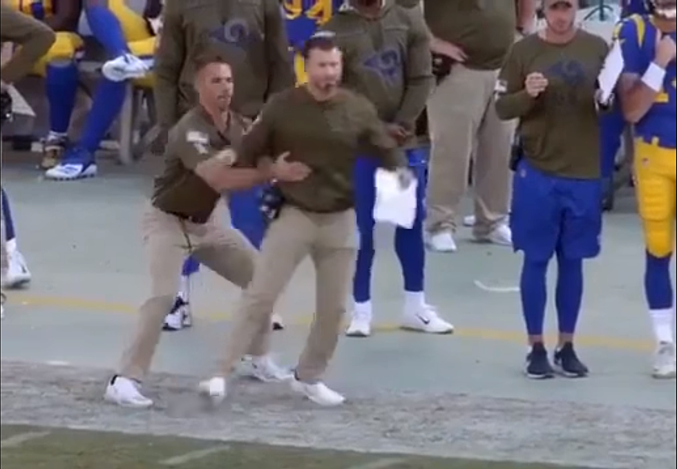 We Need To Talk About The Spotter For The Rams Head Coach