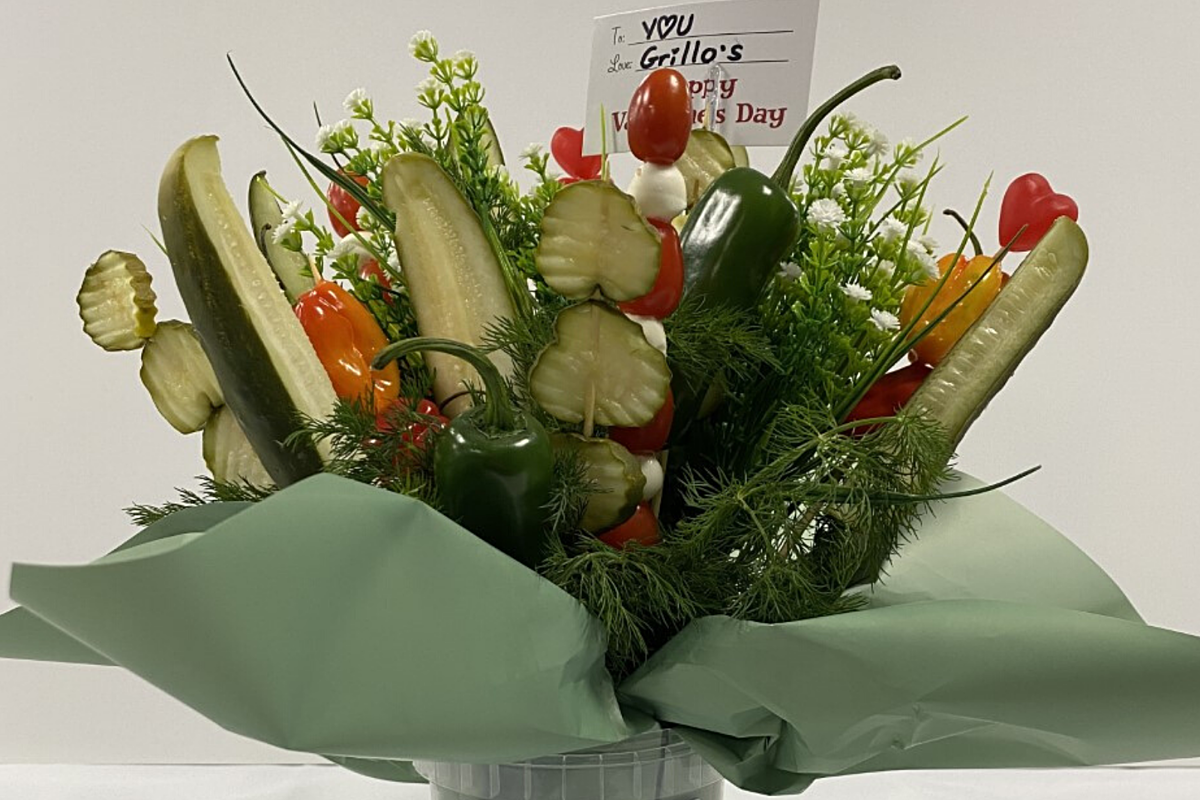 Pucker Up: Pickle Valentine's Day Bouquets Are The Real 'Dill