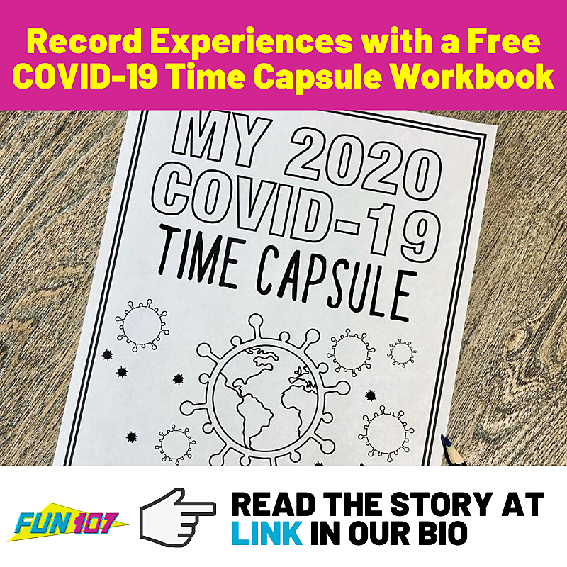It is an image of Time Capsule Printable Worksheets with quarantine