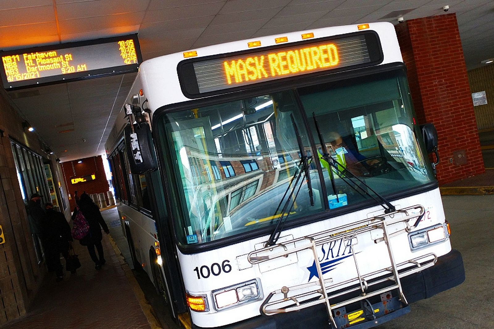 SRTA Riders Will See Bus Schedule in Real-Time at Local Terminals