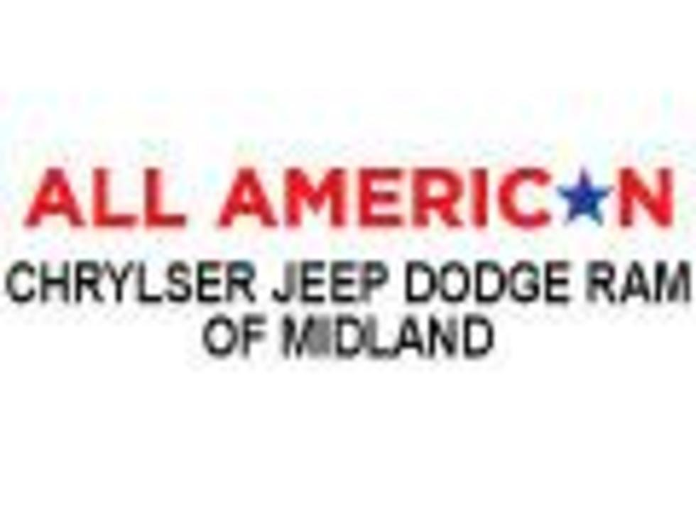 All American Dodge Midland >> All American Chrysler Jeep Dodge Ram Of Midland To Award A