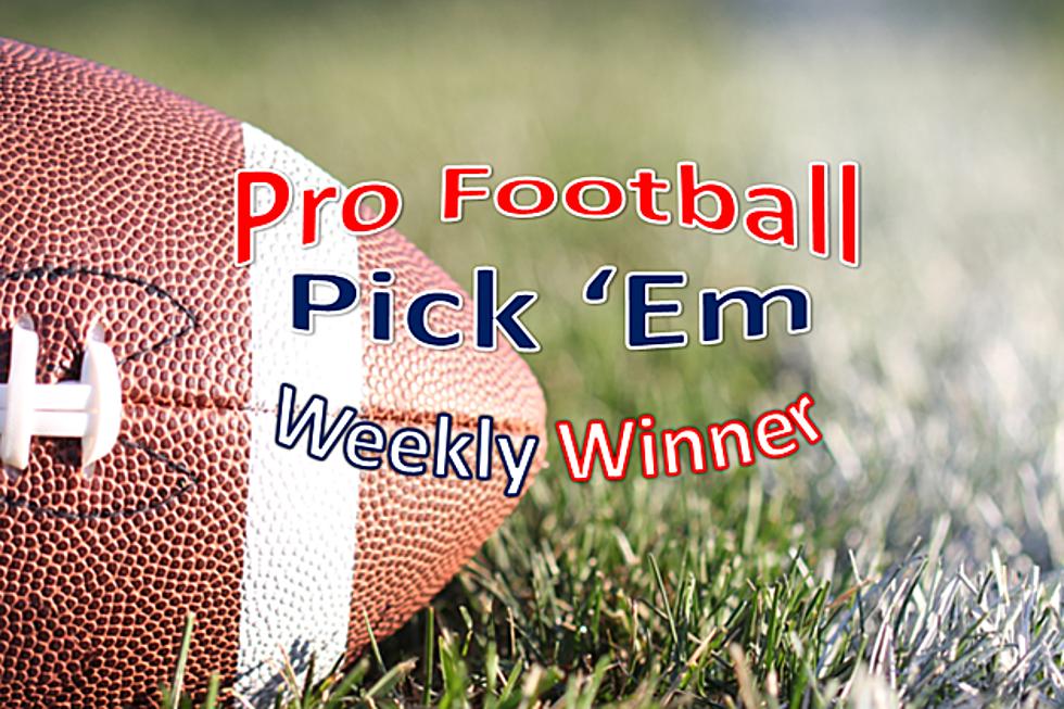 Week 14: Pro Football Pick 'Em 2018 Weekly Winner!