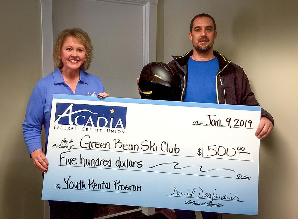 Acadia Federal Credit Union >> Acadia Fcu Donates To Protect Young Skiers