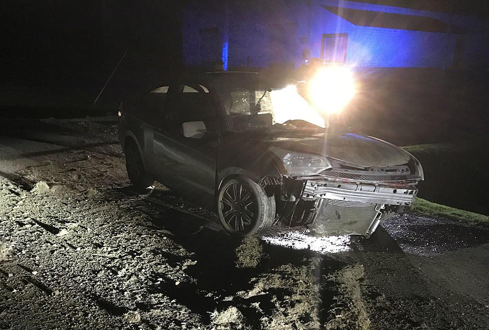 Single Vehicle Crash Near Van Buren And Route One