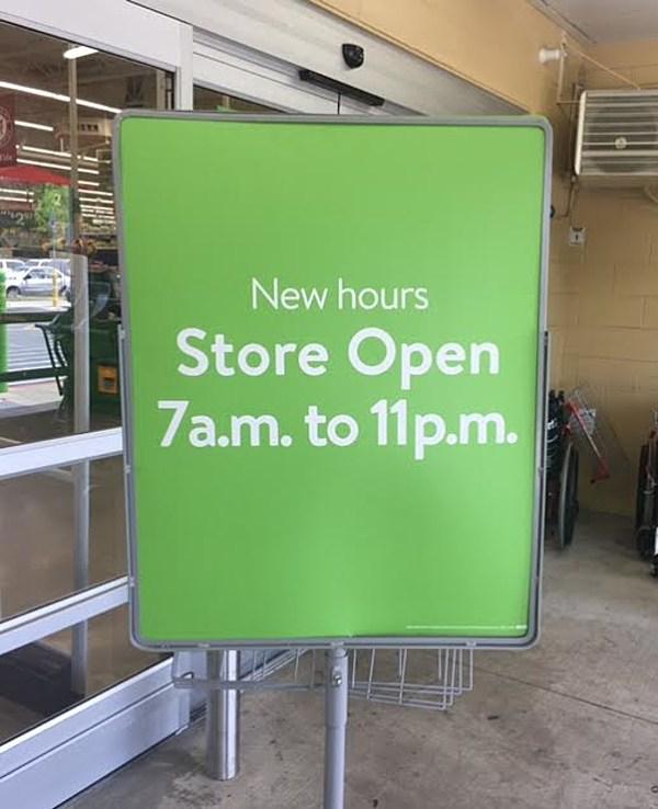 What Walmart Neighborhood Market Isn T Open 24 Hours