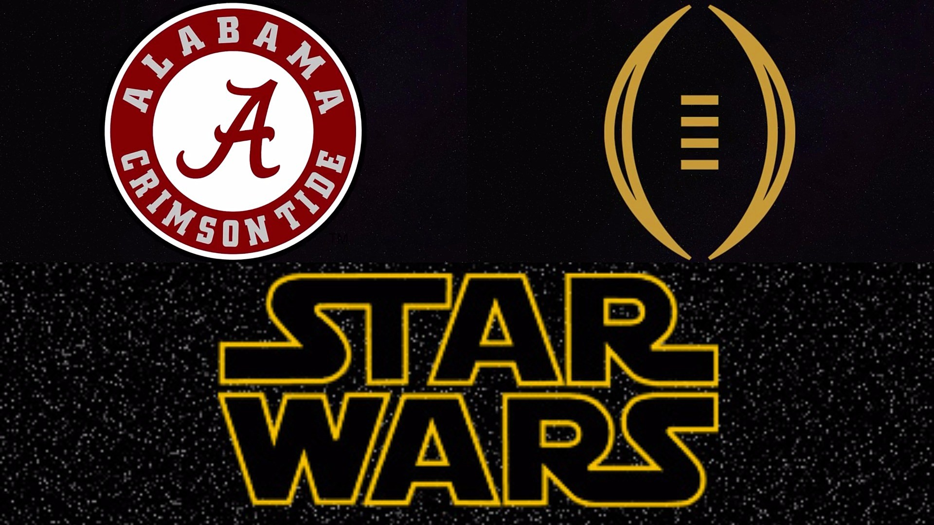 National Championship Hype Video Alabama Meets Star Wars