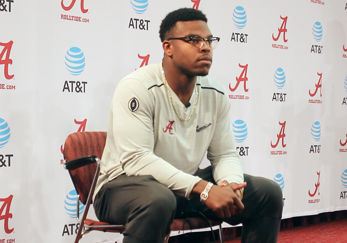 Damien Harris on Alabama-LSU Series: 'A Lot of Physical ...