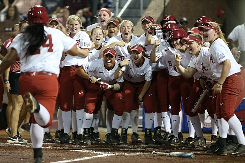 2018 Alabama Softball Ranked #10 by ESPN