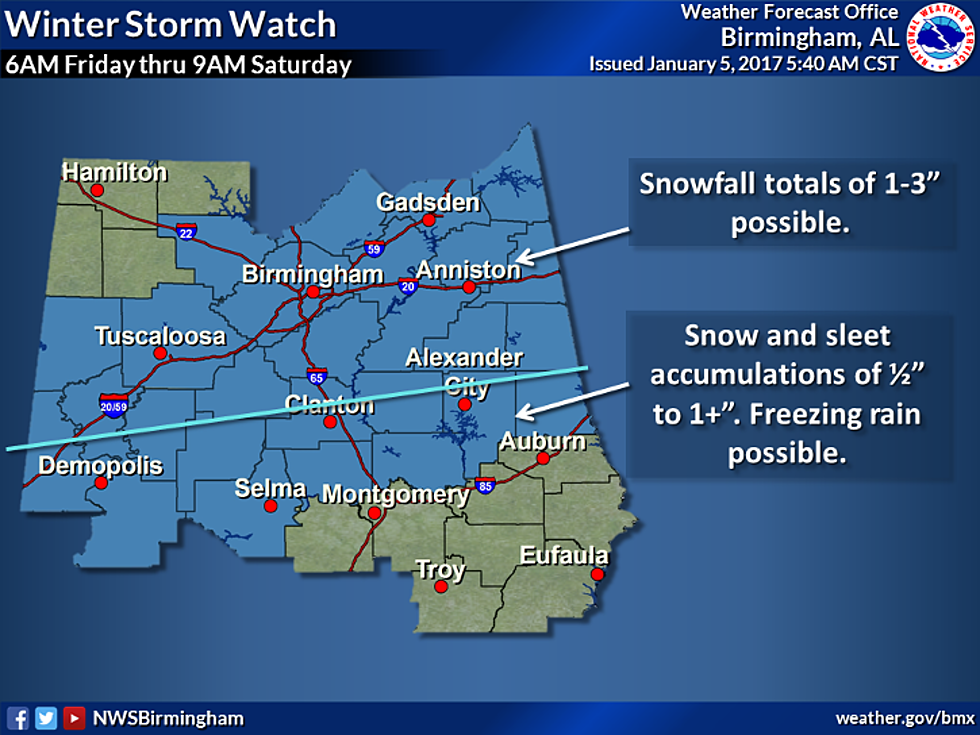 Winter Storm Watch: Here's The Latest from the National