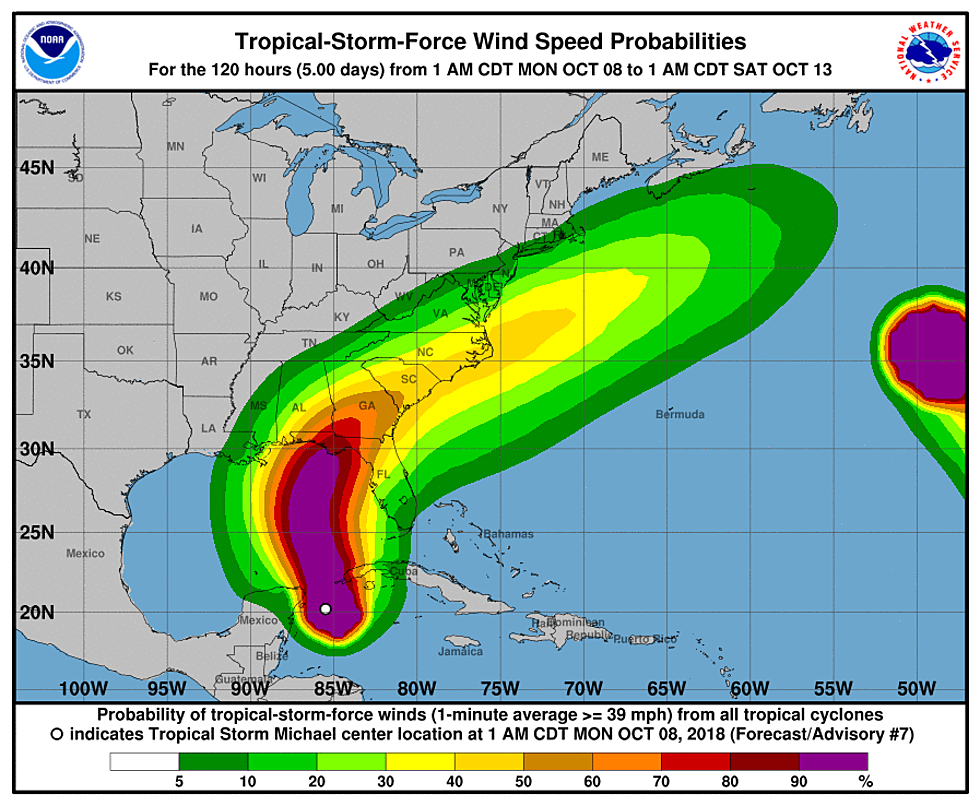 Tropical Storm Micheal to Impact Gulf Coast as Hurricane