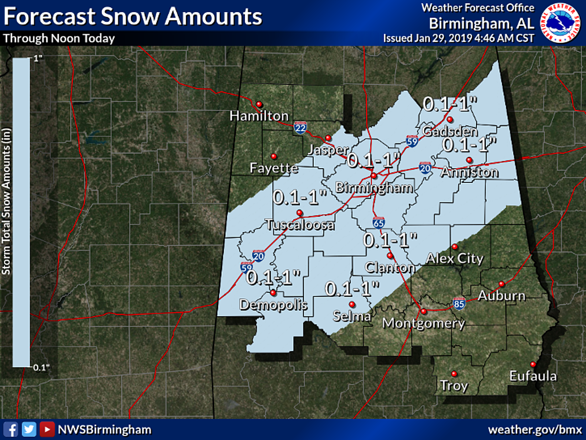 Winter Storm Warning Cancelled