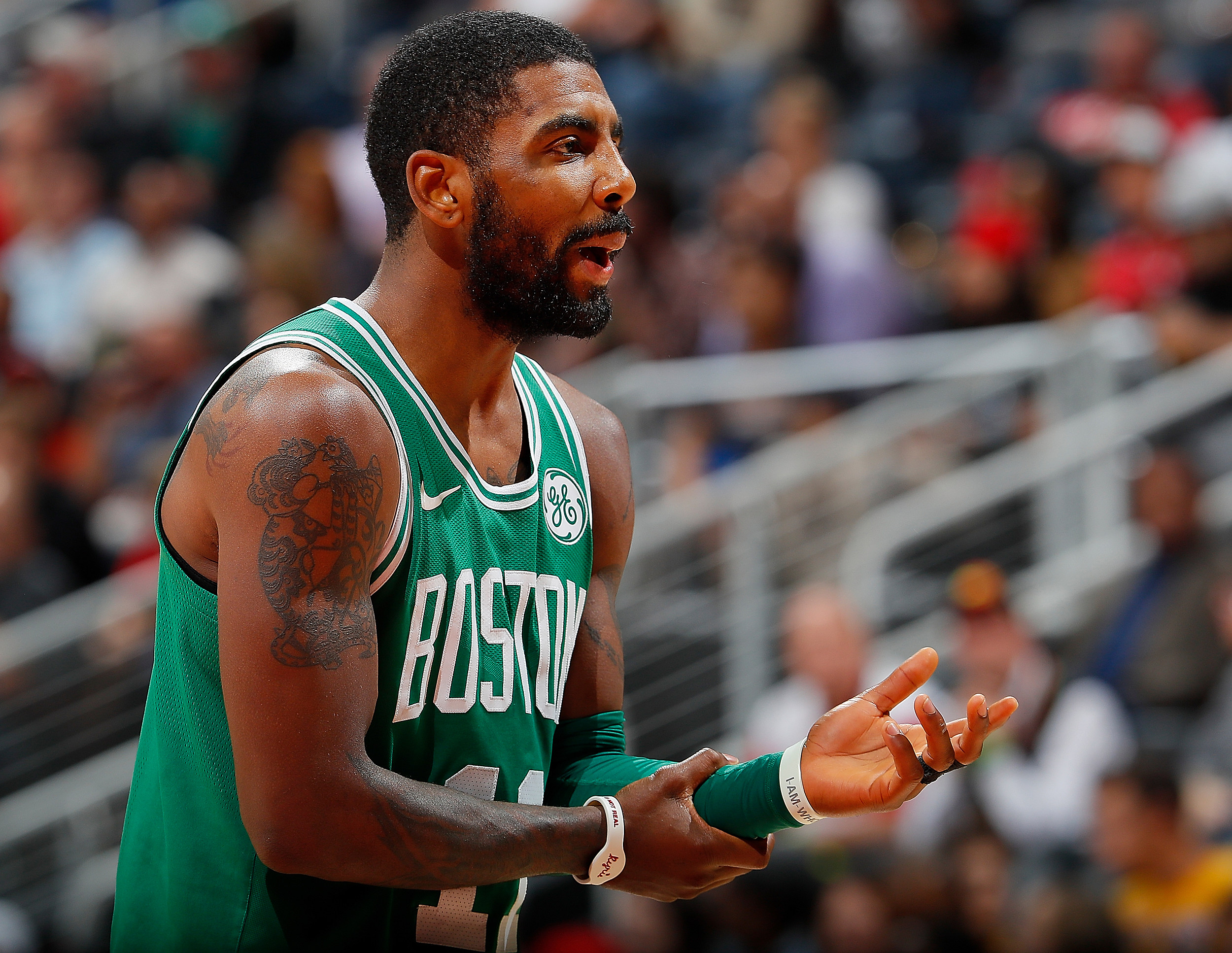 d5f5f061c34f Celtics  Kyrie Irving Honored by Mother s Sioux Tribe