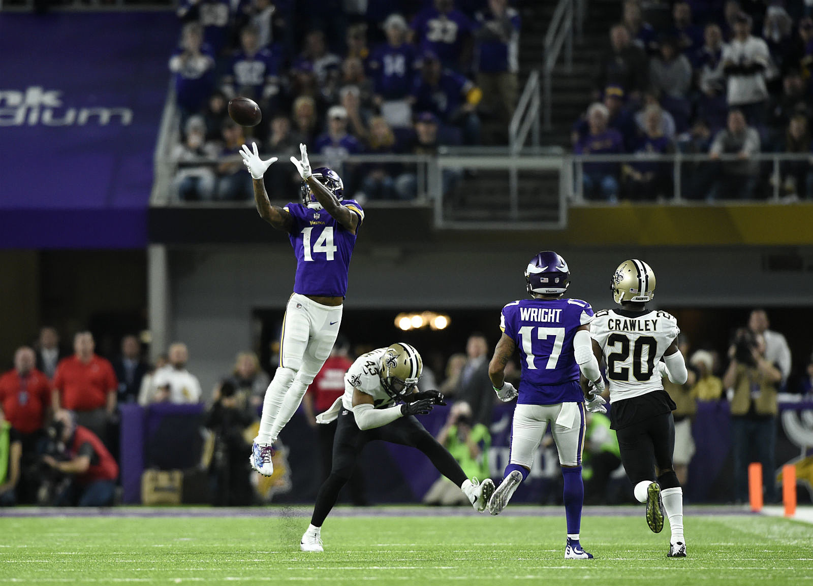 Minnesota Vikings Re Sign Stefon Diggs To 81 Million Deal