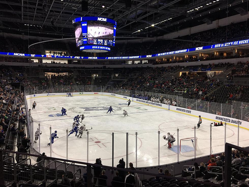 Over 16,000 Attend the NCAA Men's Hockey Regional in Sioux Falls