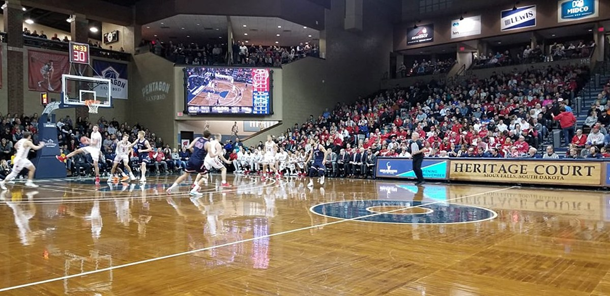 St. Marys Takes Down Wisconsin in Overtime at Sanford Pentagon - ESPN 99.1 FM