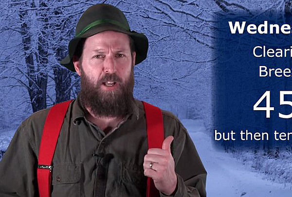 Hillbilly Weatherman S Forecast For This Week Video