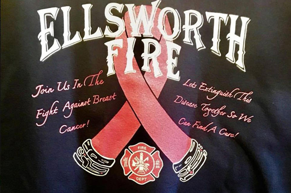 Sales Of New Ellsworth Fire Department T-Shirts To Benefit