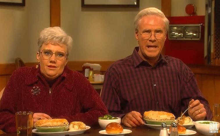 Snl Parodies Baked In A Buttery Flaky Crust Dysart S Commercial